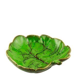 Petisqueira-de-Ceramica-Folha-Verde-14X13X4CM
