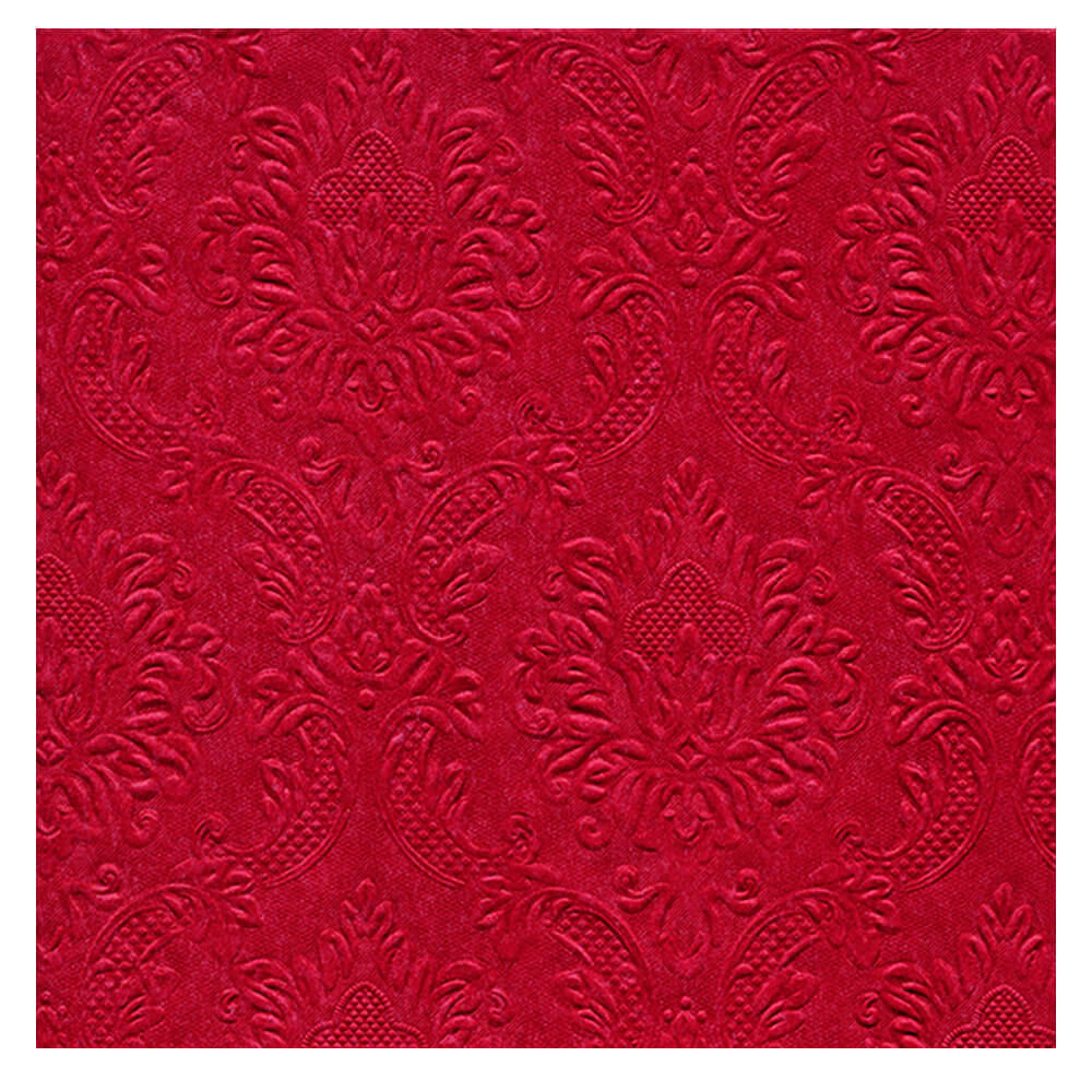Guardanapo de Papel Ornaments Red 20PÇS 33X33CM