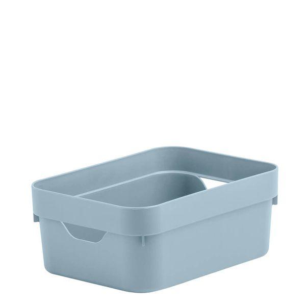 Caixa-Organizadora-Cube-OU-Azul-Glacial-20X145X8CM