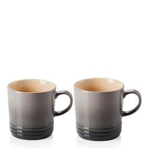 Conjunto-Caneca-de-Ceramica-Cha-Le-Creuset-Flint-350ML-2PCS
