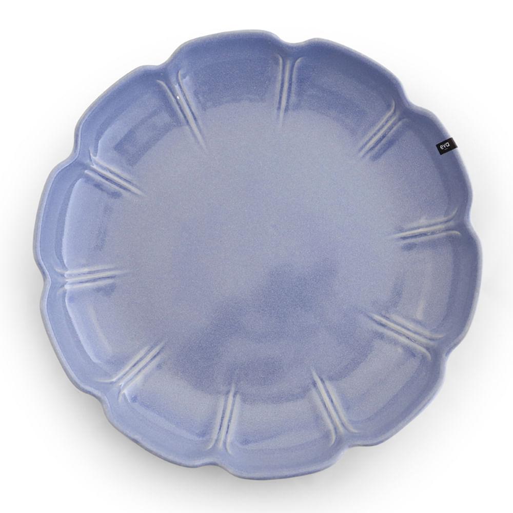 Travessa de Cerâmica EVA Jomafe Azul 40CM