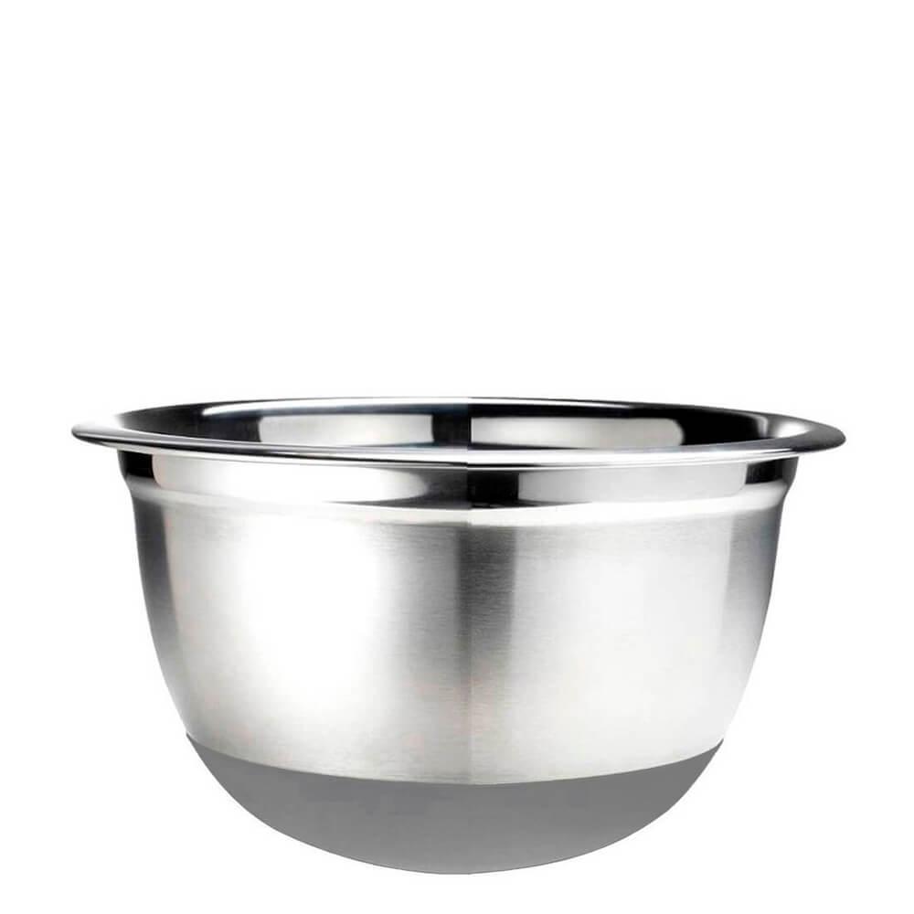 Conjunto Bowl de Aço Inox com Silicone 3PÇS
