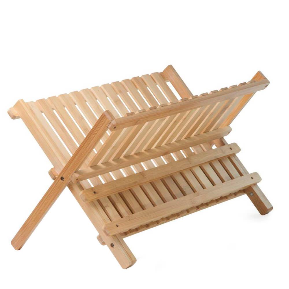 Conjunto Pia Organizada de Bambu 2PÇS