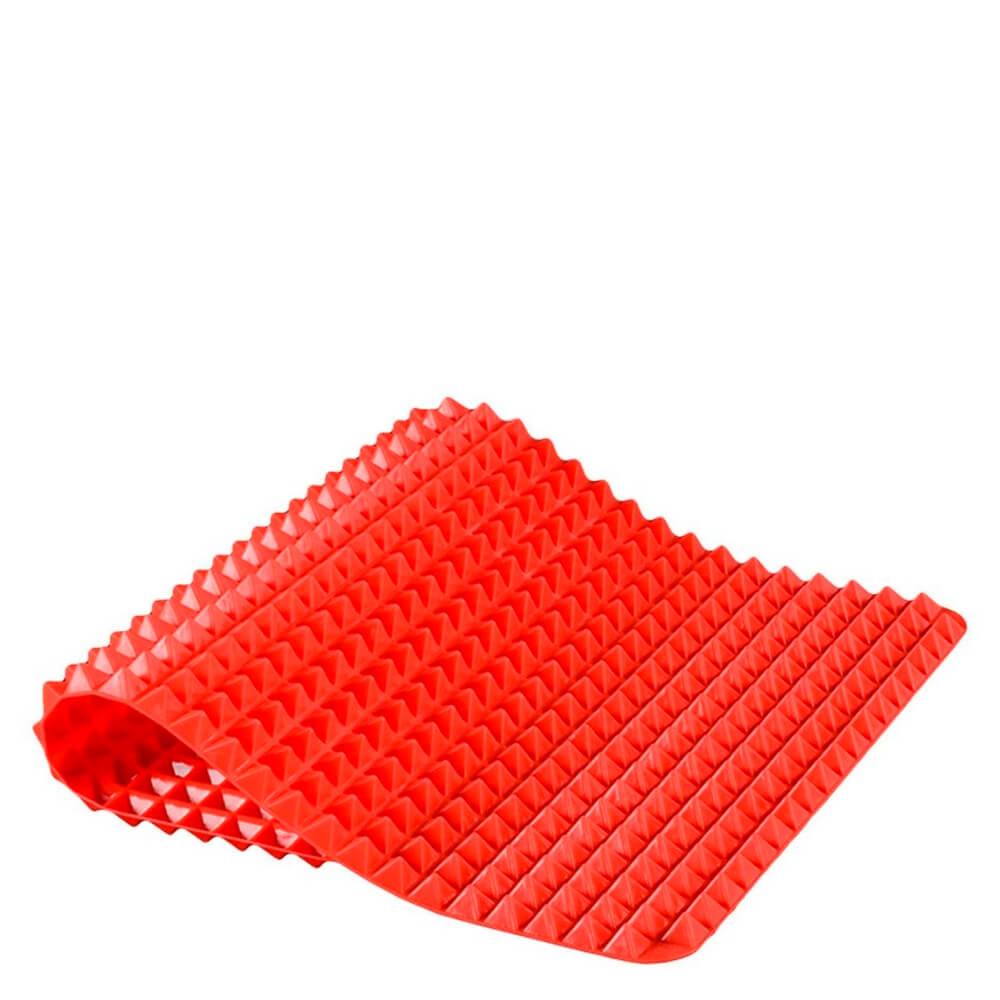 Tapete Culinário de Silicone Vermelho 40X30CM