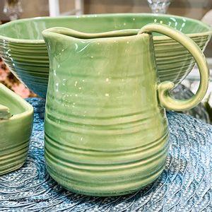 Leiteira-de-Ceramica-Ocean-Verde-12CM