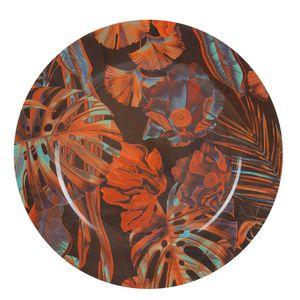 Sousplat-Tropical-Vermelho-33CM