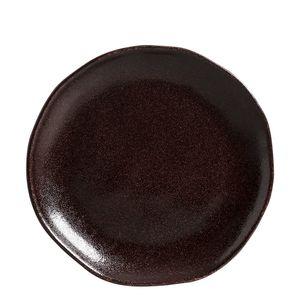 Prato-para-Sobremesa-de-Ceramica-Organico-Volcano-Porto-Brasil-19CM-6PCS