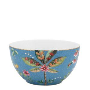 Bowl-de-Porcelana-La-Majorelle-Pip-Studio-Azul-15X8CM