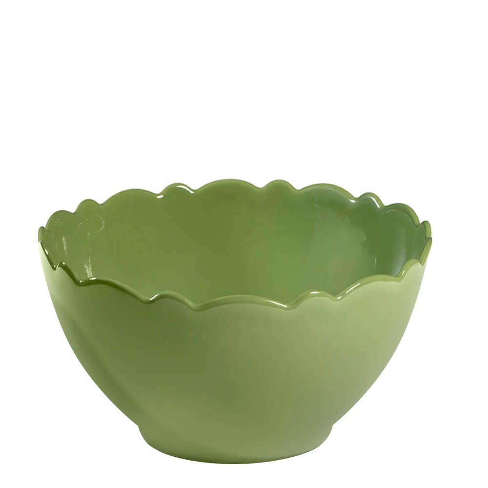 Bowl de Cerâmica Coleção Ervas Acervo Panelinha Verde 13,5X8CM