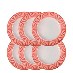Prato-para-Sobremesa-de-Ceramica-Toscana-Vermelho-215CM--1-