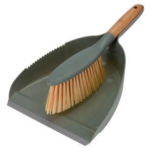 Escova-e-Pa-de-Lixo-Verde-2PCS