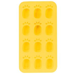 Forma-de-Gelo-Abacaxi-Amarela-20X11CM