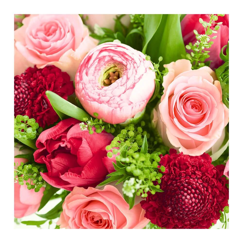 Guardanapo de Papel Rosas Coloridas 33X33CM 20PÇS