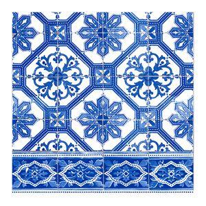 Guardanapo-de-Papel-Azulejo-Azul-33X33CM-20PCS