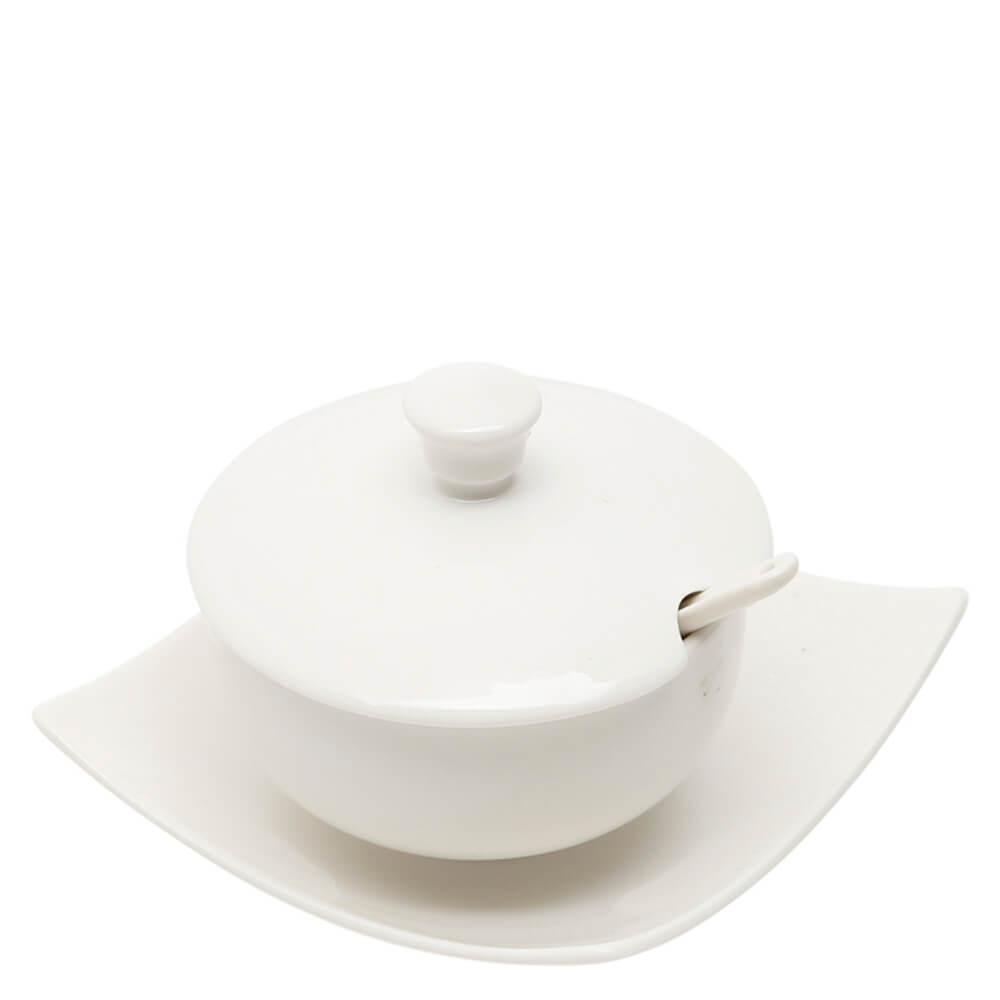 Açucareiro de Porcelana com Colher Wolff 100ML