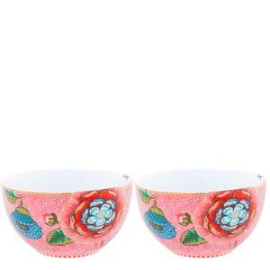 Bowl-de-Porcelana-Spring-To-Life-Pip-Studio-Rosa-12CM-2PCS