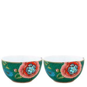 Bowl-de-Porcelana-Spring-To-Life-Pip-Studio-Verde-12CM-2PCS