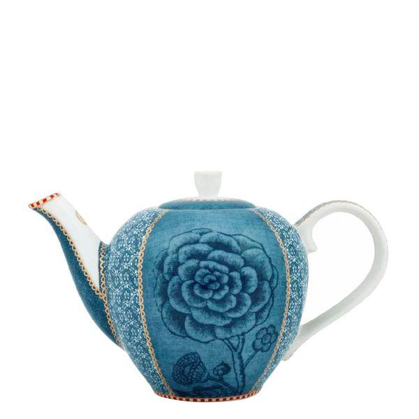 Bule-de-Porcelana-Spring-To-Life-Pip-Studio-Azul-800ML