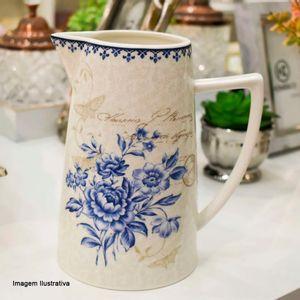 Jarra-de-Porcelana-Blue-Dream-Pip-Studio-Branca-18X16CM