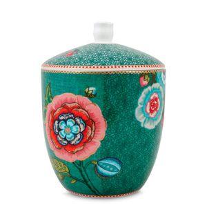 Pote-de-Porcelana-Spring-To-Life-Pip-Studio-Verde-19X14CM