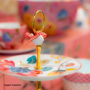 Prato-Tres-Andares-de-Porcelana-Floral-Fantasy-Pip-Studio-Rosa-e-Branco