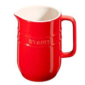 Jarra-de-Ceramica-Staub-Vermelho-Cereja-1L
