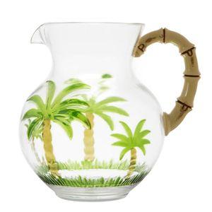 Jarra-de-Acrilico-com-Alca-de-Bambu-Palm-Tree-28L