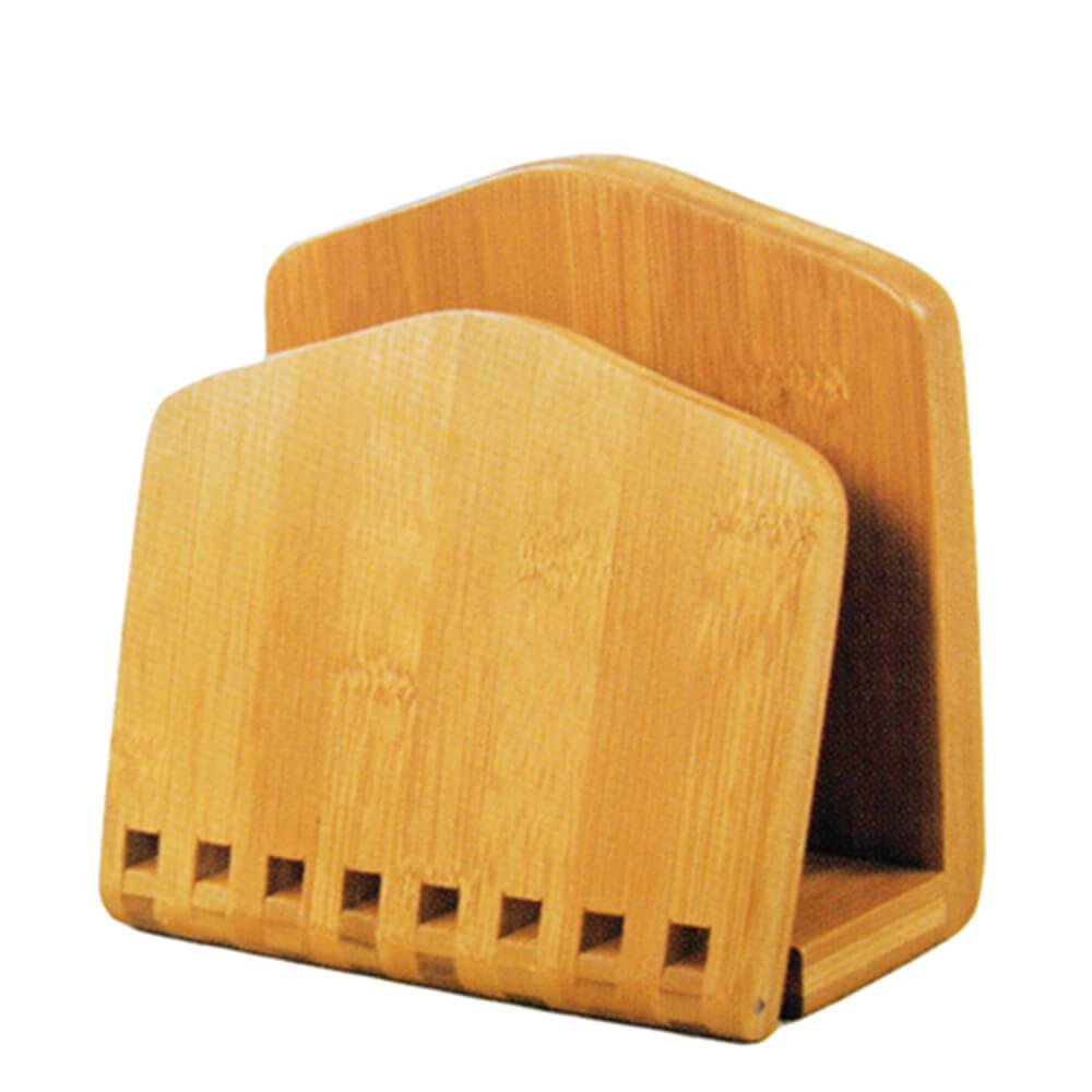 Porta Guardanapo de Bambu 16X15CM