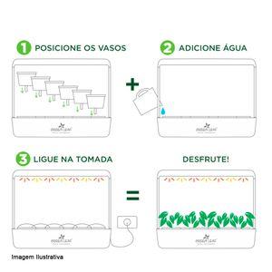 Horta-Inteligente-Green-Leaf-Preta-65X22X22CM