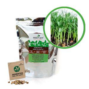 Kit-Horta-Inteligente-Green-Leaf-Ervilha-Torta-Microverdes