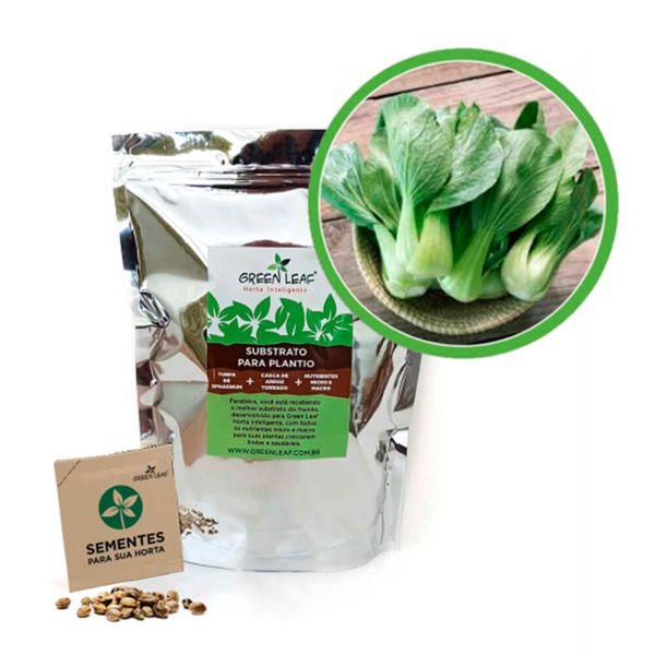 Kit-Horta-Inteligente-Green-Leaf-Pak-Choi-Mini-Yoko-Oriental