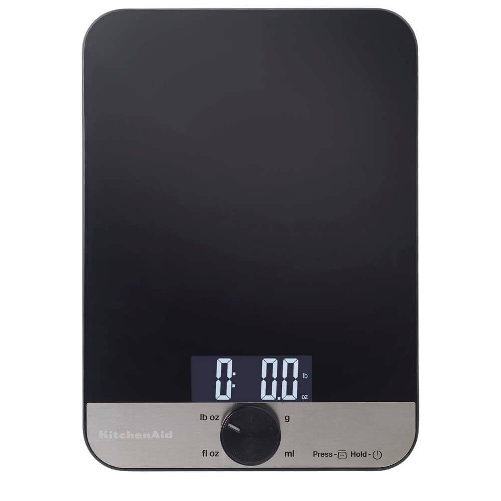 Balança Culinária Digital Single Kitchenaid Preta 5KG
