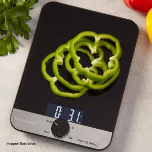 Balanca-Culinaria-Digital-Single-Kitchenaid-Preta-5KG