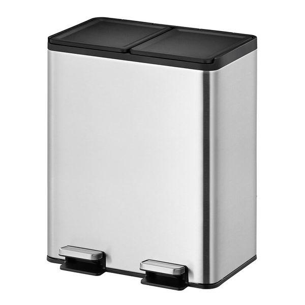 Lixeira-de-Aco-Inox-Reciclavel-Dupla-40L
