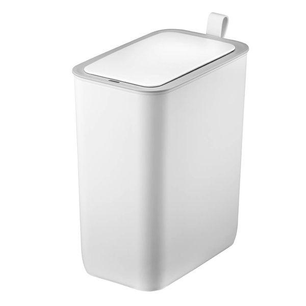 Lixeira-de-Aco-Inox-com-Sensor-Morandi-Branca-8L