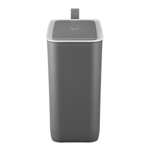 Lixeira-de-Aco-Inox-com-Sensor-Morandi-Cinza-8L
