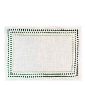 Jogo-Americano-de-Poli-Linho-Punti-Auguri-Casa-Verde-35X50CM