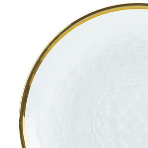 Prato-para-Sobremesa-de-Cristal-com-Borda-Dourada-Wolf-21CM