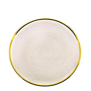 Prato-Raso-de-Cristal-com-Borda-Dourada-Wolf-26CM