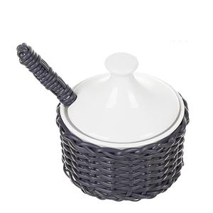 Acucareiro-de-Porcelana-e-Vime-Azul-Marinho-115X11CM
